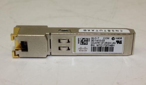 Cisco 1000BASE-T SFP Transceiver Module GLC-T