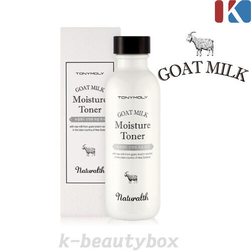TONYMOLY Naturalth Goat Milk Moisture Toner 110ml / By skinself System