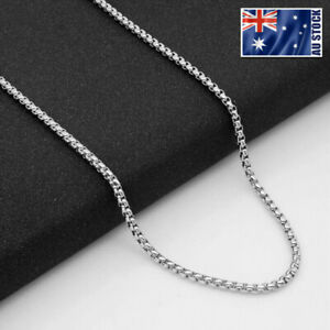Wholesale-Stainless-Steel-Square-Rolo-Box-Cylinder-Chain-Necklace-Mens-amp-Womens