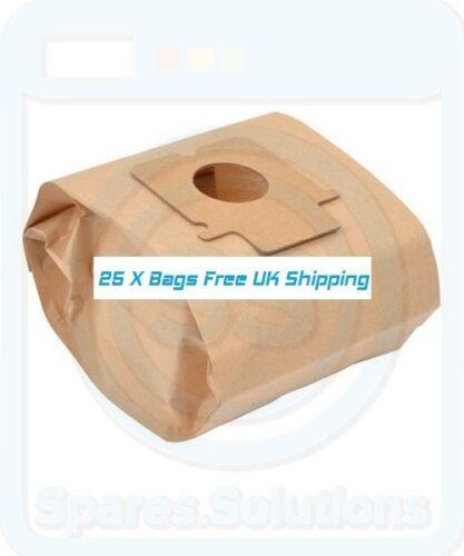 Pack Of 25 Vacuum Dust Bags for Panasonic MC-E736 MC-E737 MC-E7400 C-20E Type
