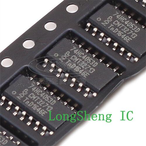50 PCS 74HC4053D SOP-16 74HC4053 HC4053 SMD demultiplexer new