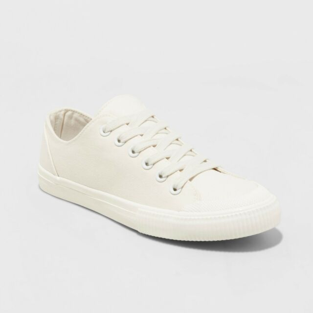 a49a69f76586ad Women s Mandy Canvas Lace up SNEAKERS - Universal Thread Cream for ...