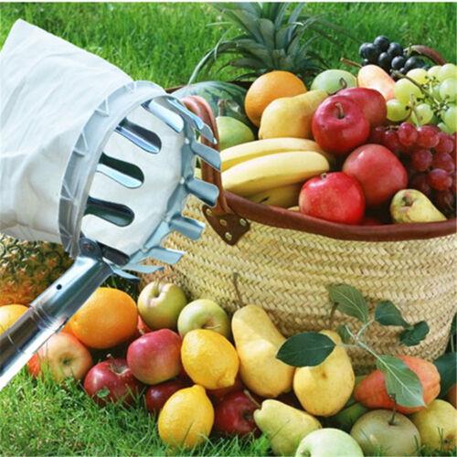 1pc Garden Tools Fruit Picker Head Metal Fruit Picking Tools Fruits Catcher TWUK