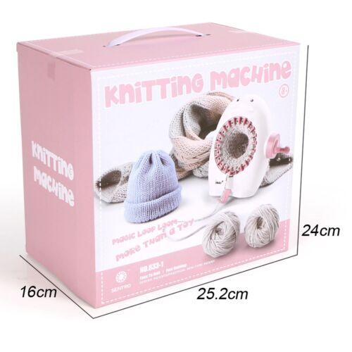 22Needle DIY Big Hand Knitting Machine Weaving Loom knit for Scraf Children Toy