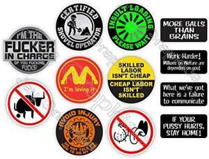 12-Set-Sheet-BEST-OF-18-Hard-Hat-Stickers-Fun-Helmet-electrician-oilfield-welder