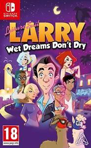 Leisure-Suit-Larry-Wet-Dreams-Don-039-T-Sec-Interrupteur-Neuf-Scelle