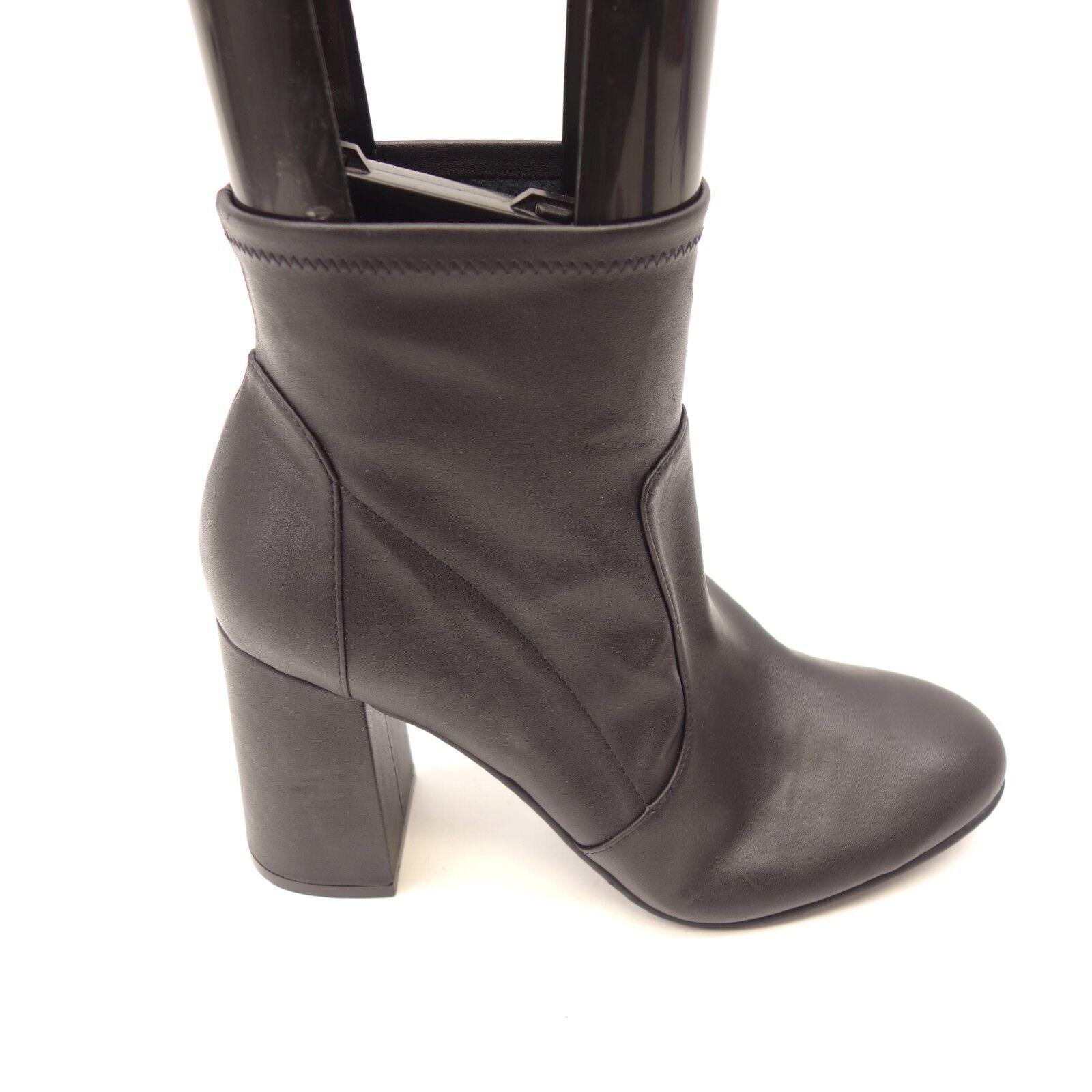 prezzo più economico New Abound donna Izzie nero Faux Leather Pull-On Block Block Block Heel stivali Dimensione 7.5  prezzi bassissimi