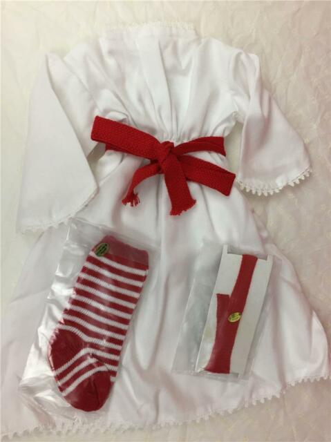 Red//white St Lucia Socks  Ribbons american girl kirsten doll pleasant company