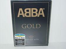 "*****DVD-ABBA""GOLD"" Sound & Vision Edition 2003 Polar Music DVD+2xAudio CDs*****"