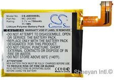 Replacement Battery 750mAh V For Amazon Kindle 6, Kindle 4, Kindle 4G, D01100