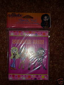 NIP-Lil-Bratz-8pk-Thank-You-Note-Cards-with-envelopes