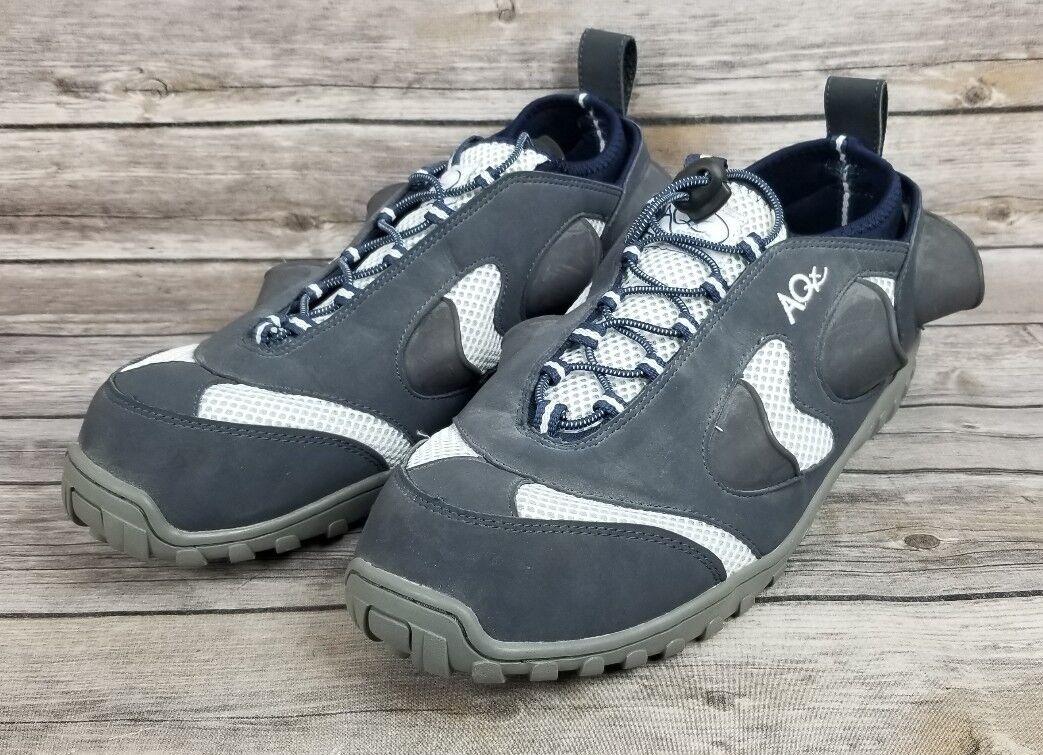 AQx Sports Uomo Aquatic Training Water Shoe Blue White Size 14 US