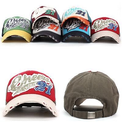 Unisex Mens Womens Casual Vintage Style Cheers 21 Baseball Cap Trucker Hats