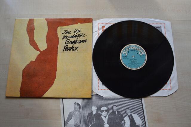 Graham Parker , The Up Escalator , Stiff Records 1980 , SEEZ23NP , Portugal