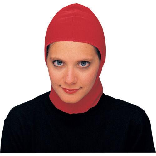 RENAISSANCE MEDIEVAL SPRINGWEAVE COSTUME NYLON HOOD BALD CAP HEADPIECE HAT MASK