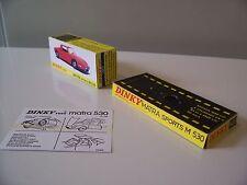 BOITE NEUVE  DINKY TOYS  N°1403 MATRA 530 + SOCLE VITRINE