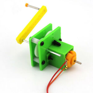Details about DIY 3V Crank Generation Creative Physic Dynamo Hand Generator  Science Experiment