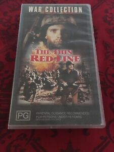THE-THIN-RED-LINE-JACK-WARDEN-1964-VHS-VIDEO-TAPE