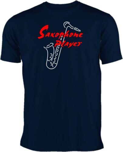Saxophone Player T-Shirt Saxofon T-Shirt # Motiv 2