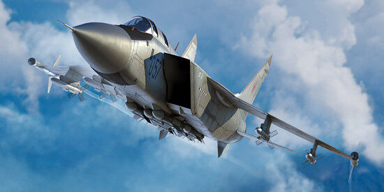 Russian Mig-31m Foxhound Fighter 1 72 Plastic Model Kit TRUMPETER