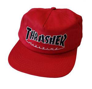Thrasher Skate Magazine Snapback Hat - Red - 3131369 10202035021  8bdc4e582563