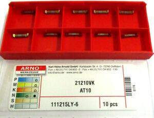 10-Plaquettes-pour-Pierce-21210VK-AT10-111215LY-6-de-Arno-Neuf-H30365