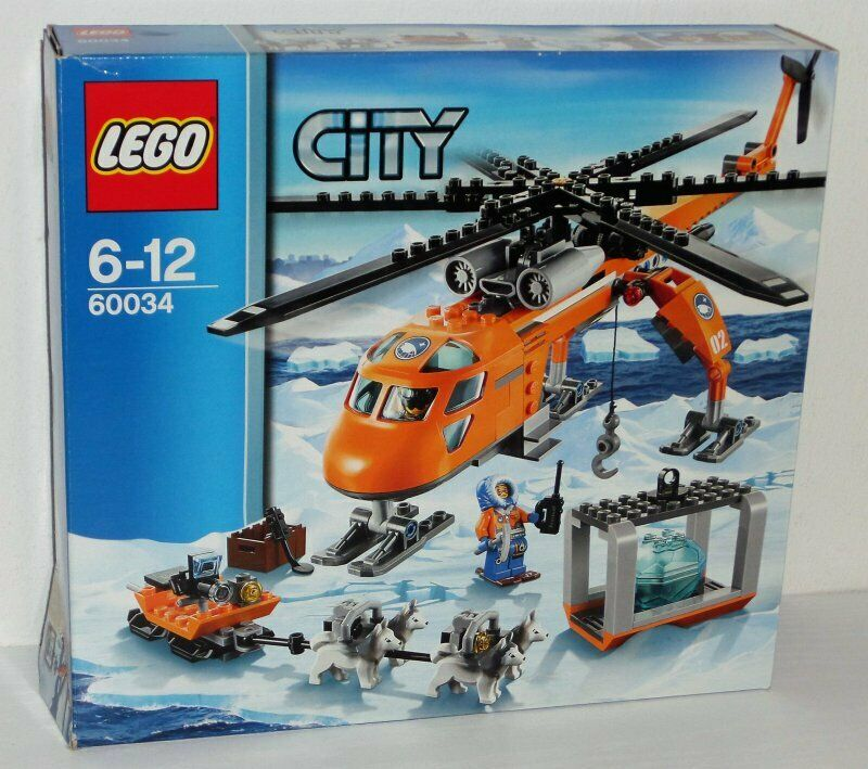 Lego City Arctic Helicrane 60034 60034 60034 inkl. OBA u. Box 4881c0