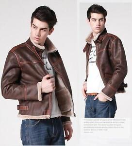 0cd782c220d Fit Slim Leather Coat New Pu Warm Black Men s Jacket Biker W1SUWPTOqw