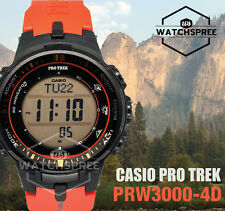 Casio Protrek Triple Sensor V3 Multiband 6 Tough Solar Watch PRW3000-4D