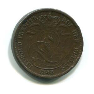 BELGIUM-1848-10-CENTS