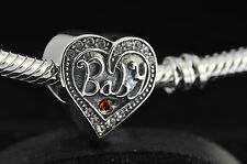 Genuine Silver S925 It's A Baby Girl Boy Family Present Charm Bead In Gift BOX