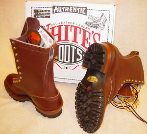 eea0185ada3cae White s Boots Original Smoke Jumper in Brown ~or~ NFPA Black Leather ...