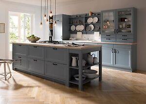 Küche blau grau  Schüller Küche Cambia Blaugrau | eBay