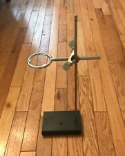 Small Lab Ring Stand Support 4 X 6 Base 175 Rod And 3 Inch Extension Ring