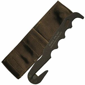 New-with-Tags-Ontario-Knife-Seat-Belt-Cutter-Military-Brown-Multicam-issued