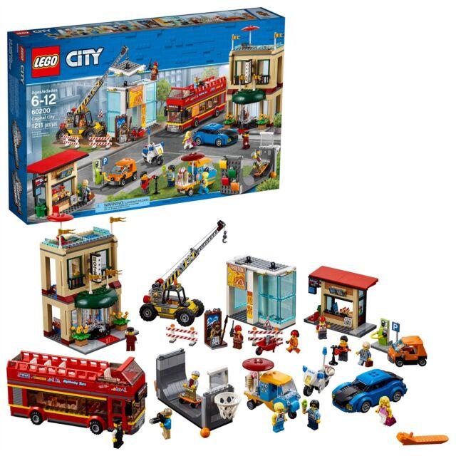 LEGO® City Town - Capital City 60200 1211 Pcs