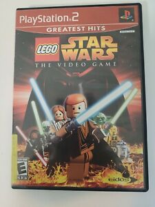 LEGO Star Wars: The Video Game Greatest Hits (Sony PlayStation 2 PS2) No Manual