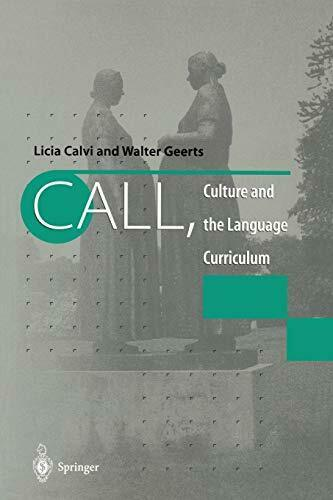 CALL, Culture and the Language Curriculum