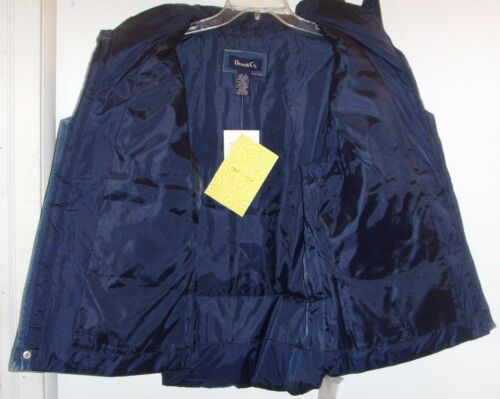 denim Blue Bomber Co Denim Large Nwt Women's Vest YwCqg7