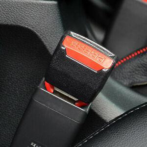 Car Safety Seat Belt Buckle Extender Extension Clip Alarm Stopper Accessories x2