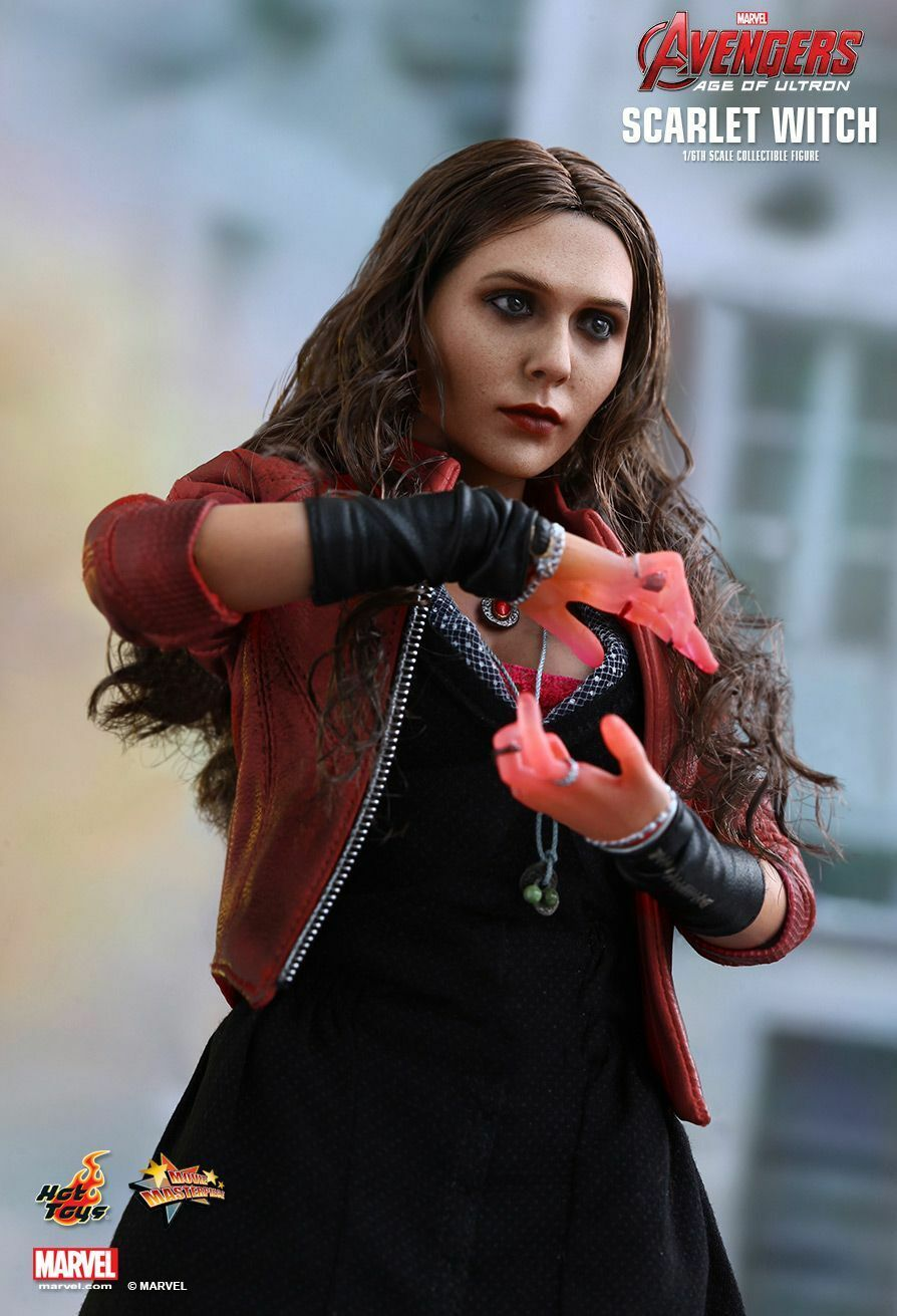 Sideshow Hot Toys 1/6 12  MMS301 Scarlet Witch Avengers Age Of Ultron Figure