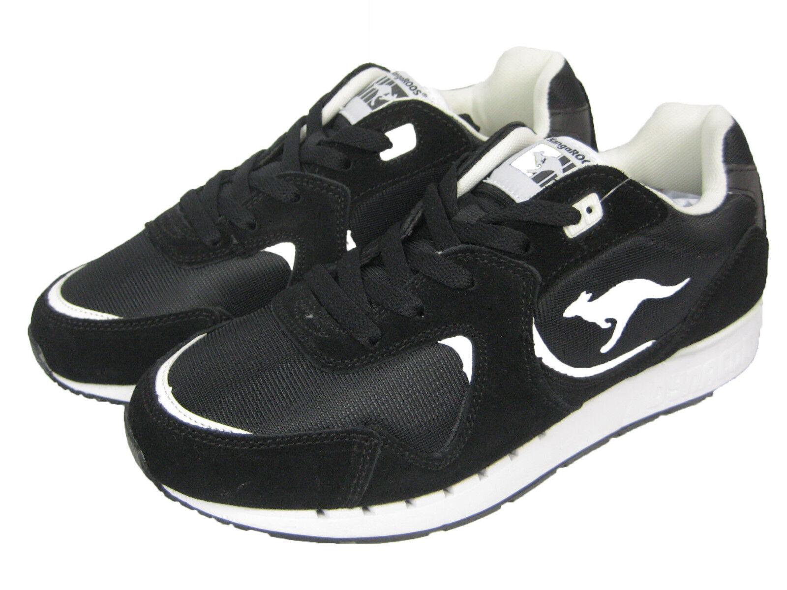 KangaROOS Herren Schuh Sneaker Laufschuh Low Coil-R2 schwarz / black