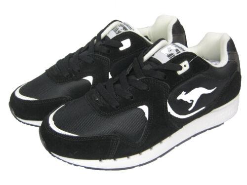 Kangaroos r2 Da Coil black Corsa Uomo Sneaker Scarpe Nero Low 0Aw0rq