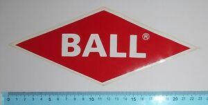 ADESIVO STICKER VINTAGE AUTOCOLLANT AUTOCOLLANT BALL JEANS RED ANNI'80 22x9 cm