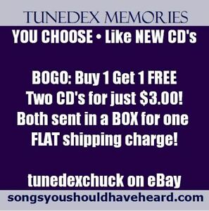 YOU-CHOOSE-Like-NEW-CD-039-s-BOGO-Buy-1-get-1-FREE-2-for-3-00-Flat-Shipping