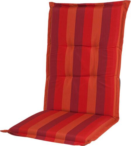 """Casa Mina Polsterauflage Sitzauflage /""""Comfort Streifen/"""" bordeaux Dessin 1206"""