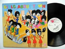 GIRLS ABOUT TOWN LP 1960's Soul Girl group compilation