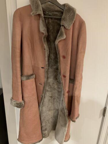 DKNY Shearling Coat
