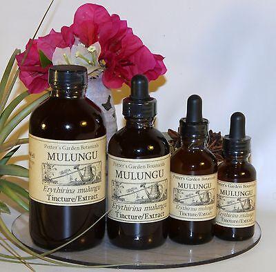MULUNGU Tincture Extract  ~natural sedative  4sizes