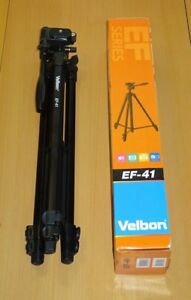NEW-VELBON-EF-41-Tripod-for-compact-amp-compact-system-amp-DSLR-cameras
